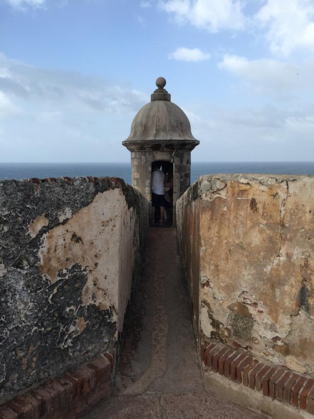 Castillo San Felipe del Murro, eastmost sentry post, second level from top