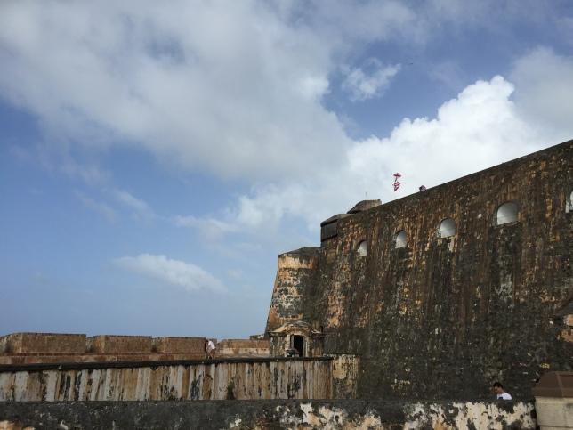 Castillo San Felipe del Murro, from second highest level