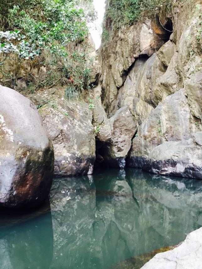 Pool on Río Espíritu Santo from the center