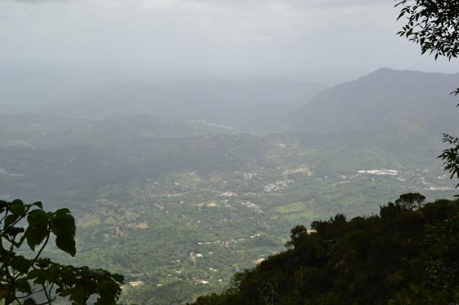 Looking south from Cerro la Punta
