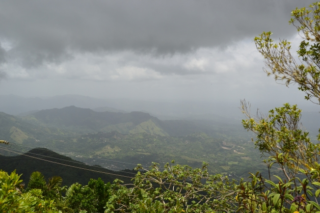Southeast from Cerro la Punta