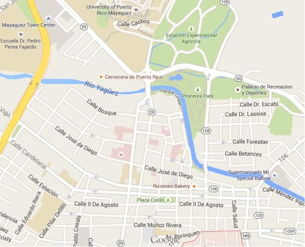 Magayuez in Google Maps