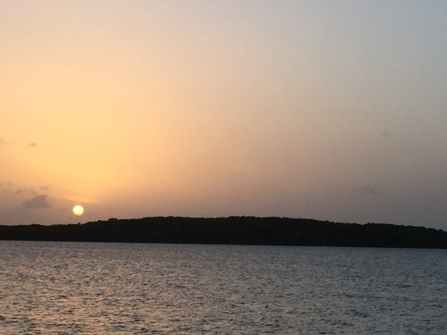 Sunset, Seven Seas beach, near Fajardo (1)