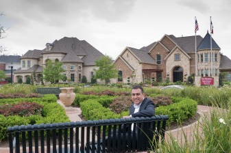 Realtor Kunal Seth lives and works in Riverstone, in Missouri City. Photo By R. Clayton McKee