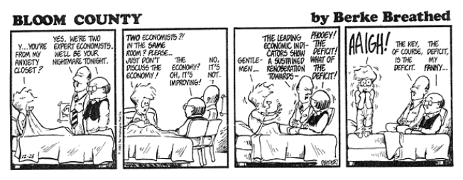 Bloom County economists