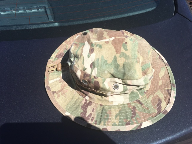 Hat after serving as boot