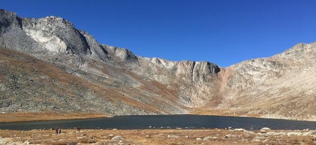 Summit Lake and its cirque